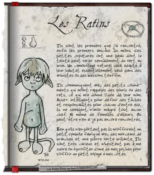 Les Petits Êtres de Ryô - Les Ratins